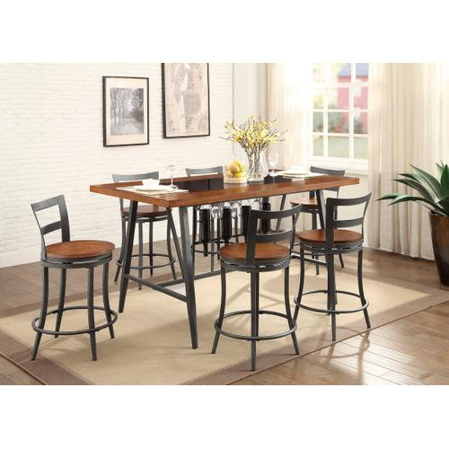 Ellis 5pc Counter Height Dining Room Set
