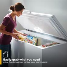 See Details - 16 CF Chest Freezer with shelves
