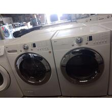 Refurbished (GAS) LG Front Load Washer Dryer Set Please call store if you would like additional pictures. This set carries our 6 month warranty, MANUFACTURER WARRANTY AND REBATES ARE NOT VALID (Sold only as a set)