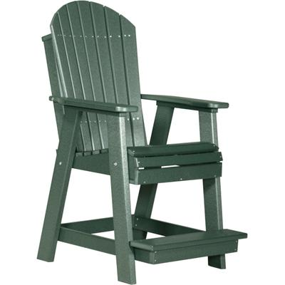 Adirondack Balcony Chair Green