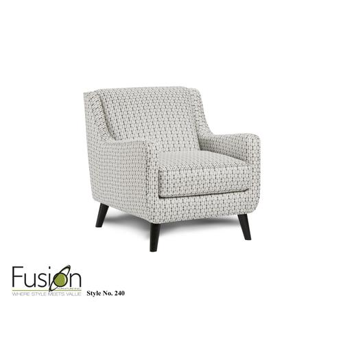 Fusion Furniture - Accent Chair Limbo Denim