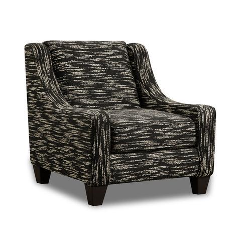 CORINTHIAN AC2027 Wifi Wheat Roswell Onyx Accent Chair