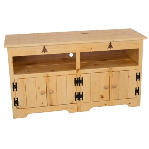 """BW592  50"""" Entertainment Center with Tree Cutout"""