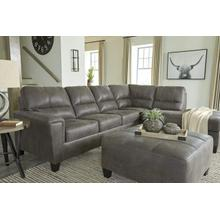 View Product - 2-piece Sleeper Sectional With Ottoman