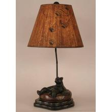 Bear In Inner Tube Table Lamp