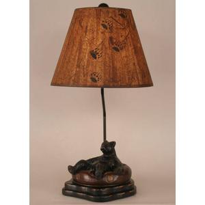 Bear In Inner Tube Table Lamp