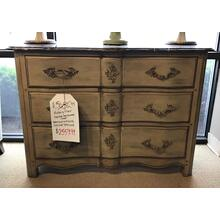 See Details - Marble Top Chest
