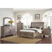 New Classic 4 Pc Queen Bedroom Set, Allegra B2159