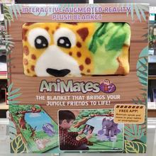 Animates Blanket, Interactive augmented reality plush blanket
