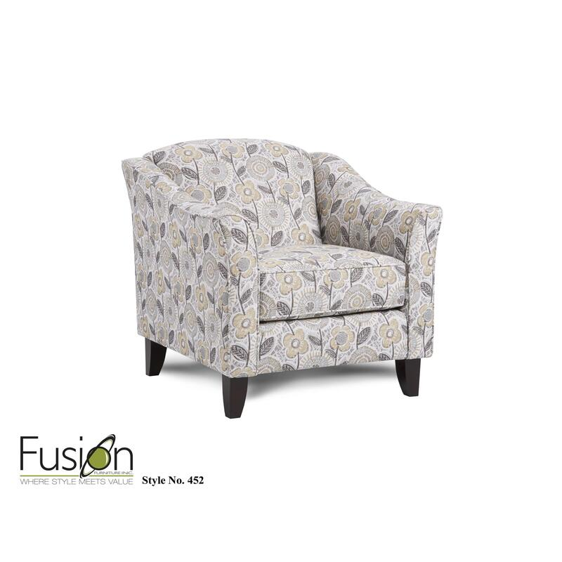 Dayflower Haze Accent Chair