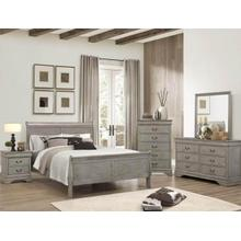 Queen Size Grey Bedroom Group