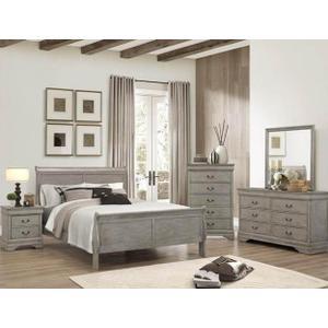 Queen Size Grey Bedroom Group