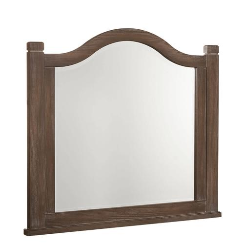 Bungalow Arch Mirror in Folkstone Finish