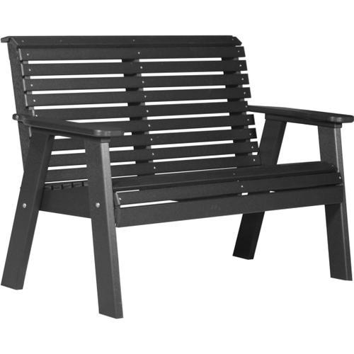 Plain Bench 4' Black