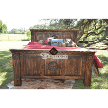 View Product - Rodeo King Panel Bed
