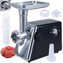 COOKINEX ED-610B, 1200 Watt Electric Meat Grinder, 3 Grinding Plates Sausage Stuffer