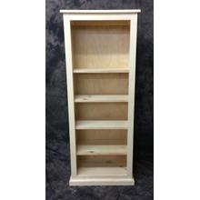 See Details - Maine Made 24X60 Bookcase 24W X 60H X 13D Pine Unfinished