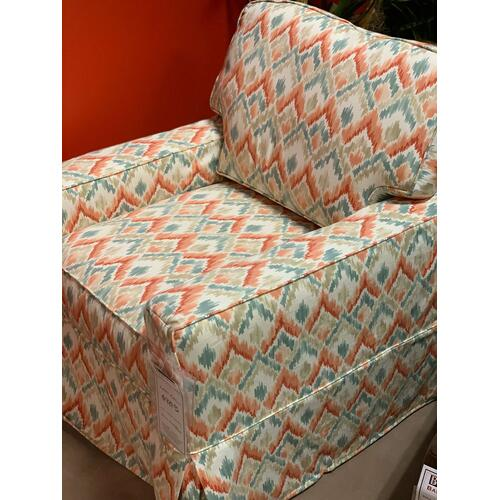 Miles Talbott - Options Swivel Slipcovered Chair-Floor Sample-**DISCONTINUED**