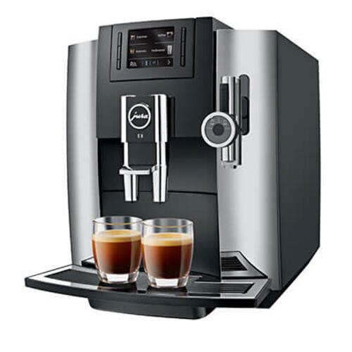 Jura - Jura 15271 Automatic Coffee Machine E8, Chrome