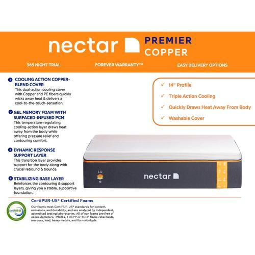 Nectar Sleep - Nectar Premier COPPER