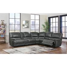 Left Side Facing Power Recliner	Gin Rummy Charcoal