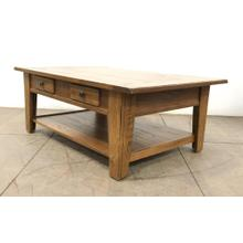 See Details - Large Rectangular Cocktail Table