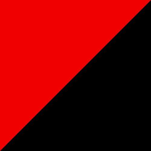 Adirondack Glider 4' Red and Black