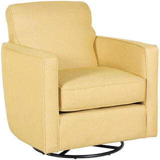 Maxwell Swivel Accent Chair Gray