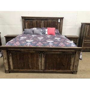 L.M.T. Rustic and Western Imports - Chatham Queen Bed