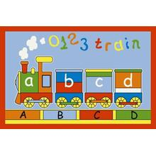 "ABCD Train / Multi - 0330 Size 3'3""x4'7"""