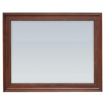 GAC McKenzie Rectangular Mirror Cherry Finish