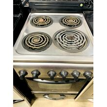 "USED- 20"" Electric Range - Stainless Steel E20STCOIL-U SERIAL #2"