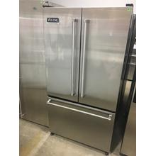 "Used Stainless Steel 36"" French-Door Bottom-Mount Refrigerator/Freezer - VCFF036"