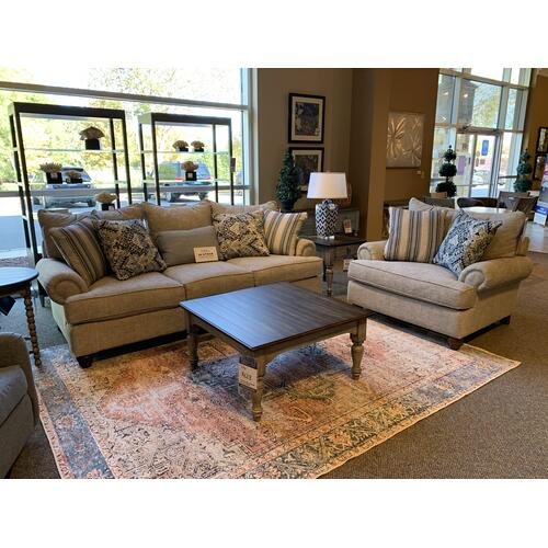 KAIS10 Living Room Sofa and Matching Accent Chair