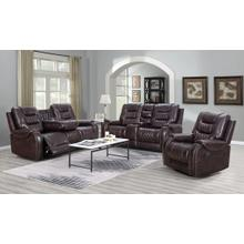See Details - Ashley Brown - 3pc Reclining Set