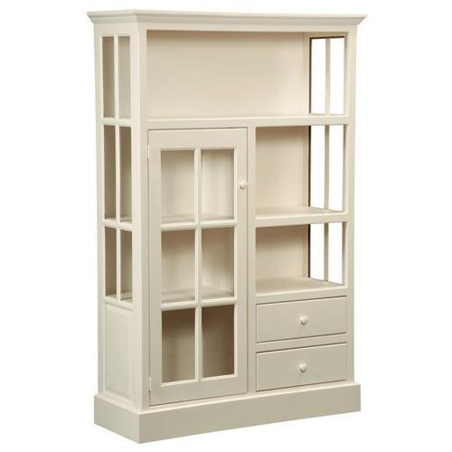 Amish Furniture - Cape Cod Pine Kitchen Cupboard Curio