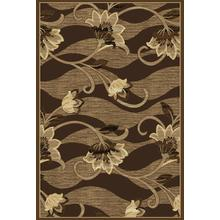 Hampton Collection Chocolate 5x7 Rug