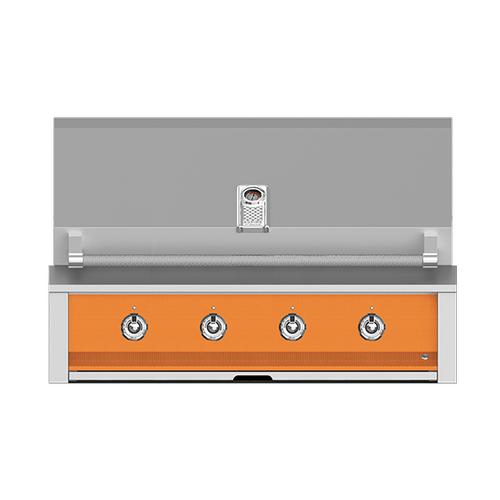 "Hestan - Aspire By Hestan 42"" Built-In U-Burner Grill LP Citra Orange"