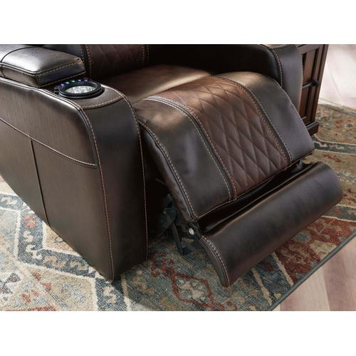 Theatre Power Recliner with Adjustable Headrest