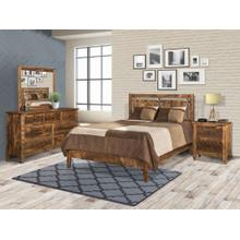 See Details - Rough Sawn Maple Queen 5-Piece Bedroom Set