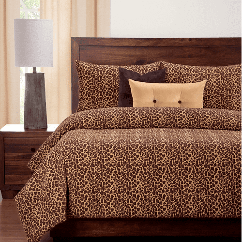 """Big Cat Bronze"" SIS Essentials Bedding Collection"