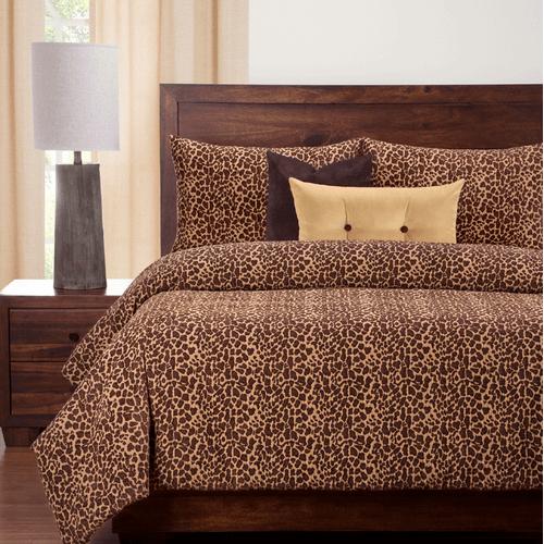 """Big Cat Bronze"" SIS Essentials Bedding Collection"