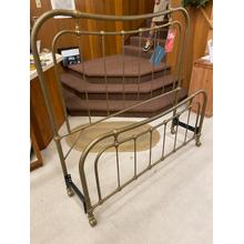 View Product - ID:200291 Queen size gold/bronze color iron bed