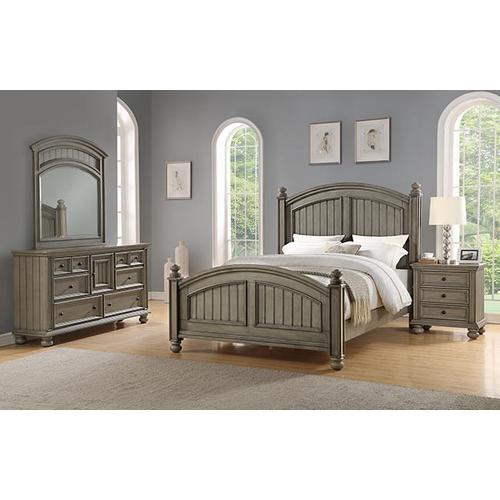 Barnwell Queen Panel Bed