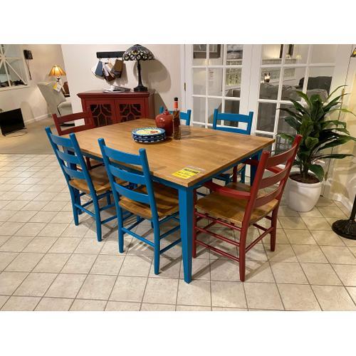 Keystone - Keystone- Table & 6 Chairs