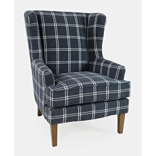 Jofran - Lacroix Accent Chair Navy