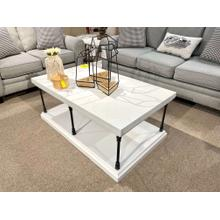 See Details - Coffee Table & 2 End Tables (SET)