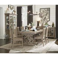 See Details - Expandable Table with Butterfly Leaf & 8 Chairs
