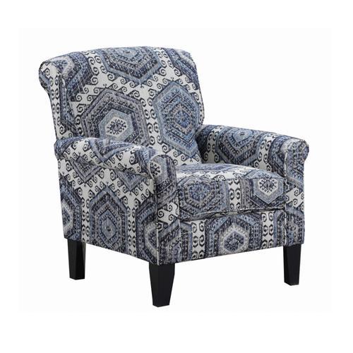 Simmons Upholstery - UNITED 8530BRAC 2160 Bellamy Slate Accent Chair