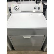 Used White-on-White Whirlpool® Super Capacity Plus Electric Dryer